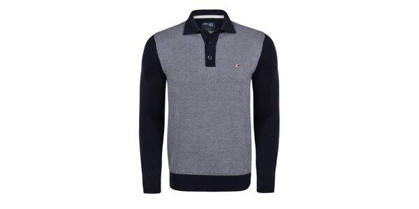Pánsky sveter s límčekom Giorgio Di Mare