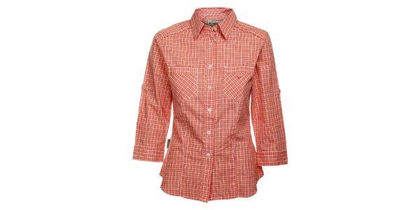 Dámska červená kockovaná košeľa Bushman