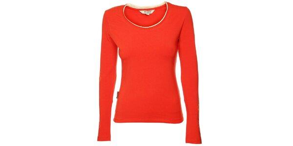 Dámske červené tričko Bushman