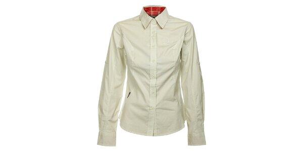 Dámska krémová košeľa Bushman