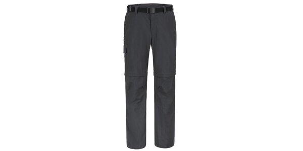 Pánske čierne funkčné nohavice Maier