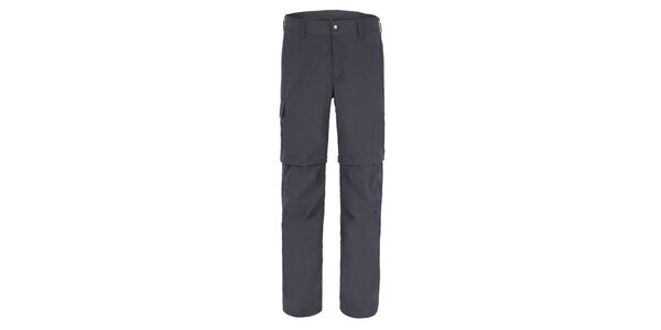 Pánske šedé nohavice Maier s odpínateľnými nohavicami