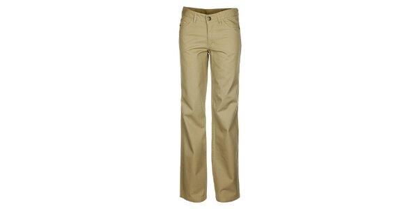 Dámske krémové džínsy Bushman