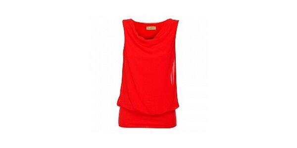 Dámsky červený top Comptoir des Parisiennes