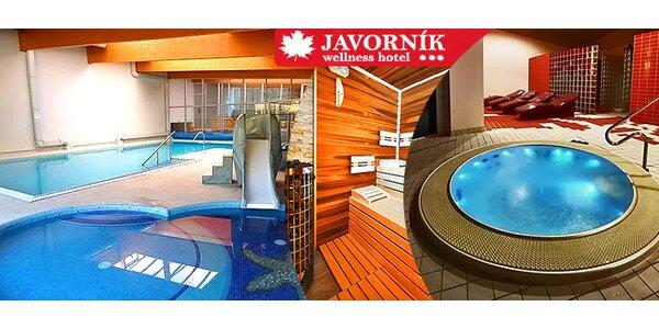 Ski & wellness pobyt v novom hoteli Javorník***