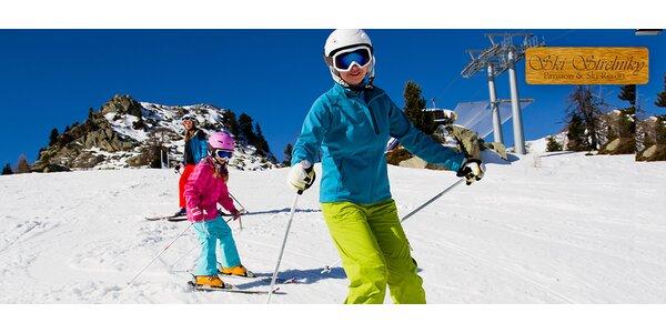 Skipasy v lyžiarskom stredisku SKI Strelníky
