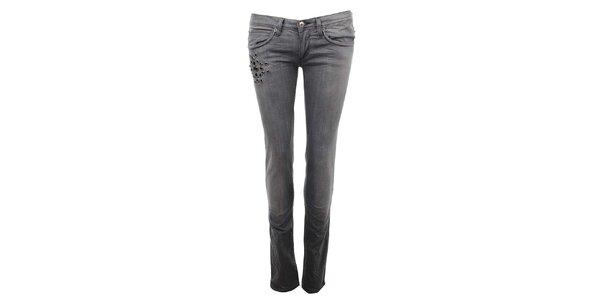 Dámske šedé džínsy Zu Elements