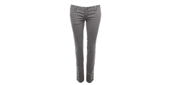 Dámske šedé nohavice Zu Elements