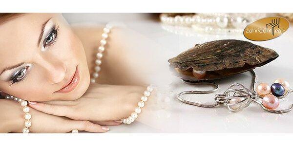 Šperk s pravou perlou prianí