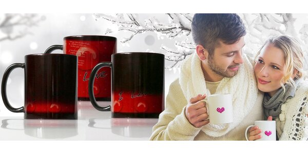 Romantický TERMOhrnček s valentínskym odkazom