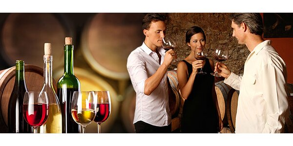 Ochutnávka vín pre DVE OSOBY