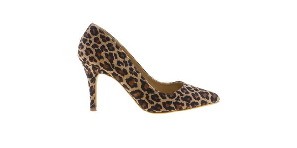 Dámske lodičky s leopardím vzorom Eva Lopez