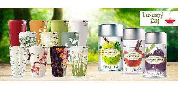 Chuť a vôňa sveta: luxusné sypané čaje a hrnčeky