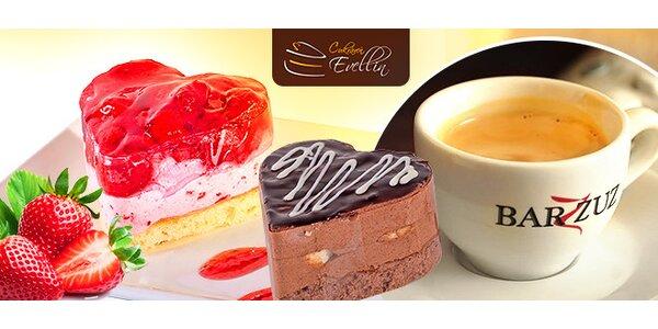 Exkluzívny zákusok + káva v Žiline