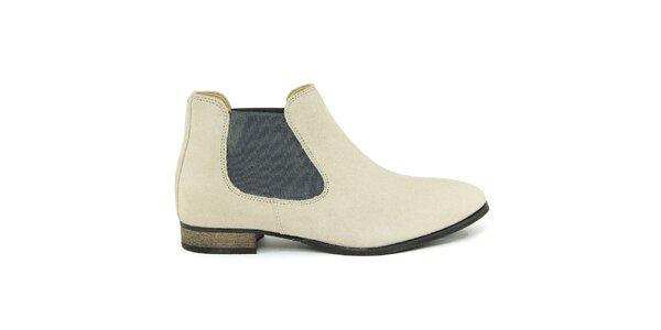 Dámske svetlé členkové topánky Giorgio Picino