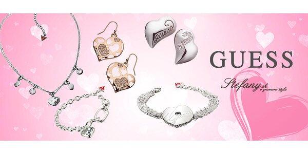 Štýlové náušnice, náramky či náhrdelníky Guess