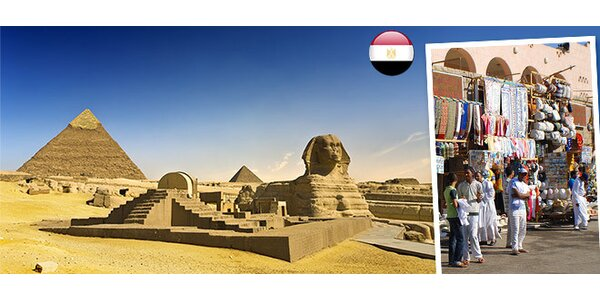 5-dňový výlet za nákupmi do Káhiry (Egypt)
