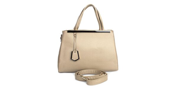 Dámska kabelka s vonkajším vreckom London fashion