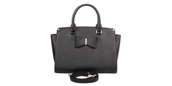 Dámska čierna kabelka London Fashion