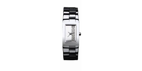 Dámske strieborné analogové hodinky s logom Morgan De Toi