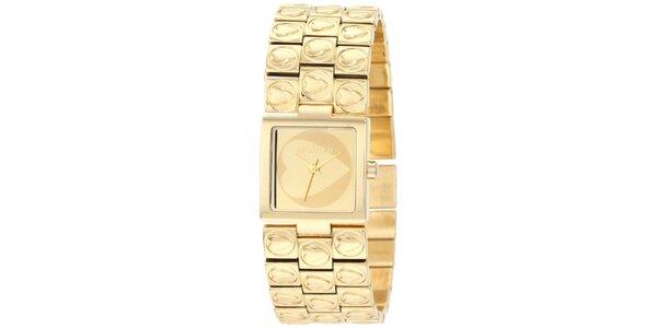 Dámske zlaté hodinky Morgan de Toi