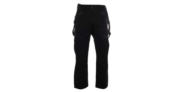 Pánske funkčné lyžiarske nohavice v čiernej farbe Trimm