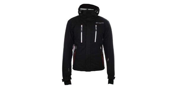 Pánska čierna funkčná zimná bunda Trimm
