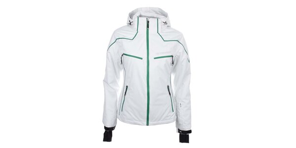 Dámska biela lyžiarska bunda Trimm