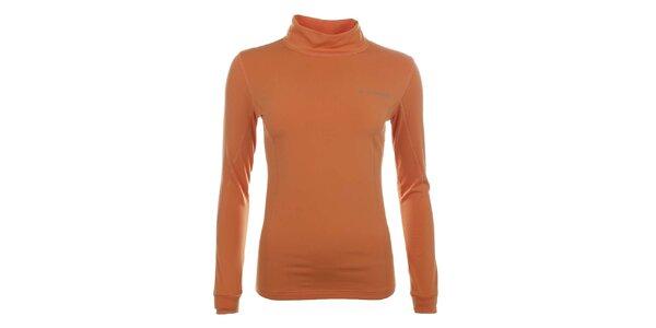 Dámske funkčné oranžové tričko s rolákom Trimm