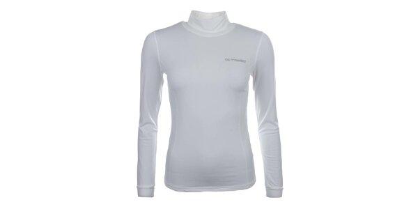 Dámske biele funkčné tričko s roláčikom Trimm