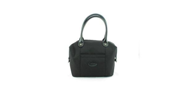 Dámska čierna nylonová kabelka Morgan de Toi