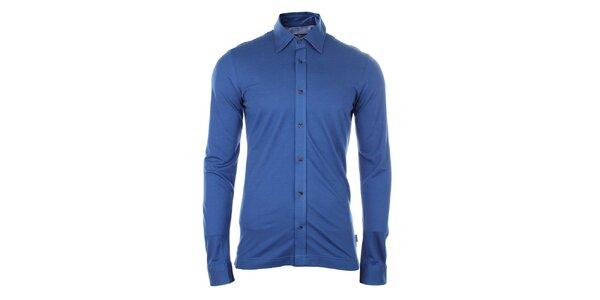 Pánska modrá košeľa Pietro Filipi