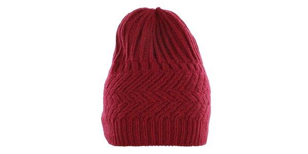 Pánska červená čiapka Pietro Filipi