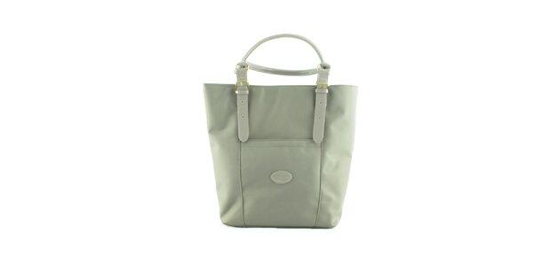 Dámska svetlo šedá nylonová kabelka Morgan de Toi