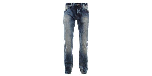 Pánske džínsy so šisovaním Big Star