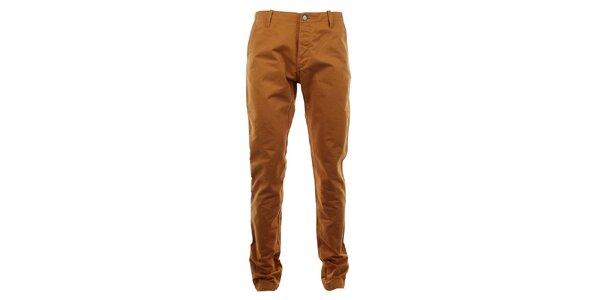 Pánske nohavice v medovej farbe Big Star