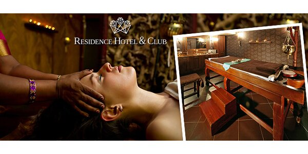 Ayurvédska masáž v RESIDENCE HOTEL & CLUB