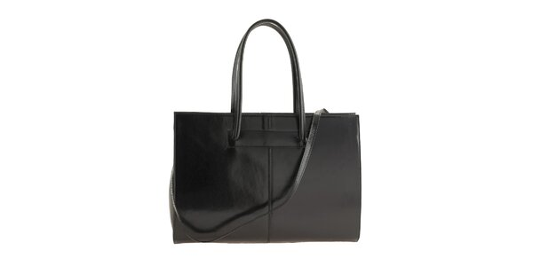 Dámska čierna obdĺžniková kabelka Ore 10