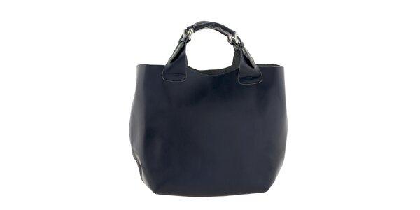 Dámska tmavo modrá veľká kabelka Ore 10