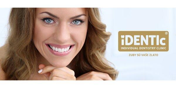 Dentálna hygiena s odstránením kameňa ultrazvukom