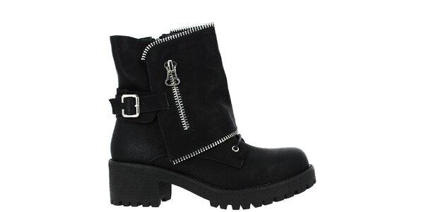 Dámske topánky Vanessa Wu - čierne