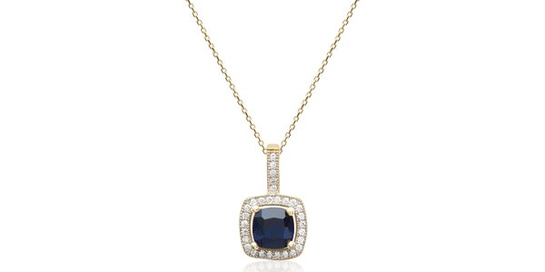 Dámsky pozlátený náhrdelník s príveskom Fifi Ange