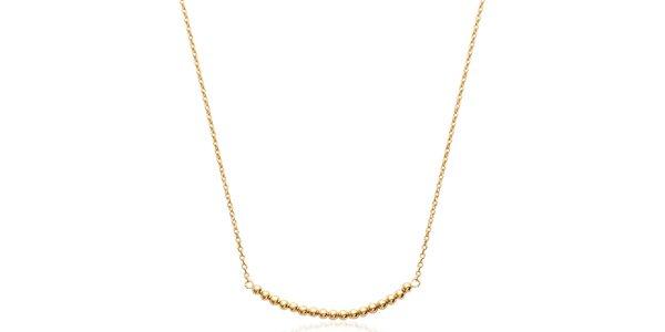 Dámsky pozlátený náhrdelník Fifi Ange