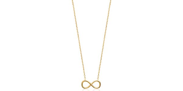 Dámsky náhrdelník s príveskom v tvare ležatej osmičky Fifi Ange