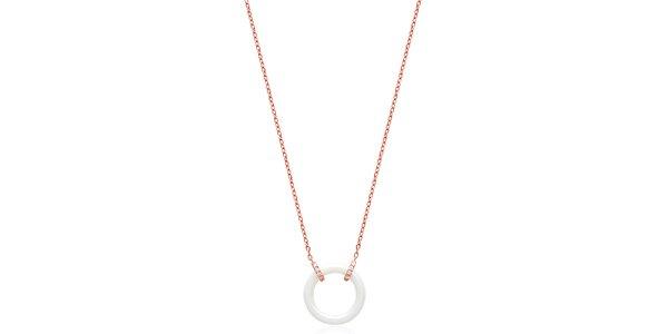 Dámsky náhrdelník s keramickým krúžkom Fifi Ange