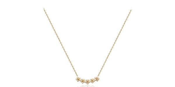 Dámsky náhrdelník s kvietkami Fifi Ange