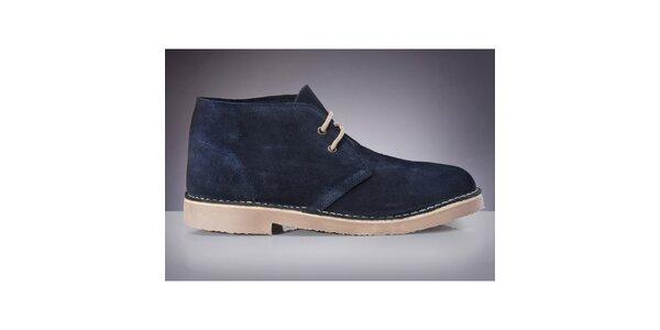 Pánske tmavo modré topánky Roamers