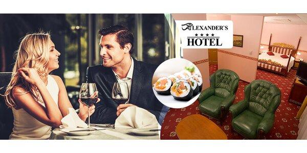 Pobyt pre dvoch v hoteli Alexander's s prekvapením
