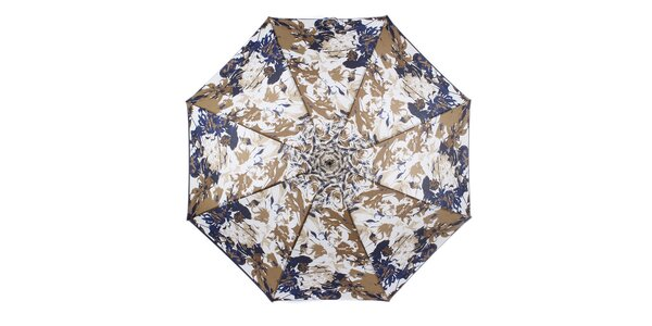 Dámsky dáždnik s modrými kvetmi Ferré Milano