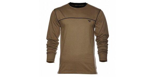 Pánske tmavo zelené tričko Bushman